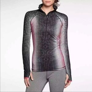 Nike Pro Hyperwarm 1/2 Zip Pullover Size medium